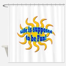 Cool Cruise souvenirs Shower Curtain