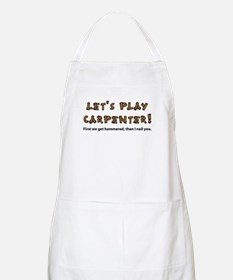 Let's Play Carpenter BBQ Apron