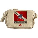 Dive Instructor (Marlin) Messenger Bag