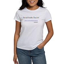 Social Studies Teacher Tee