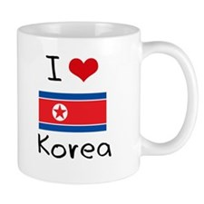 I HEART KOREA FLAG Mug