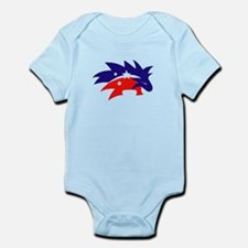 LPF Red Porcupine Body Suit