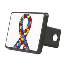 Autism Awareness Ribbon Hitch Cover