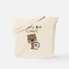 Boy Bear Crazy for Cocoa Tote Bag
