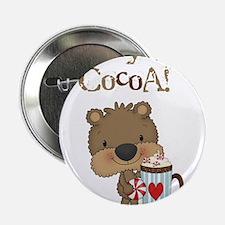 """Boy Bear Crazy for Cocoa 2.25"""" Button"""