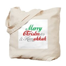 Merry Christmas and Hanukkah ~ Tote Bag