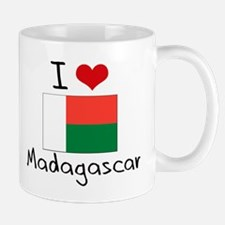 I HEART MADAGASCAR FLAG Mug