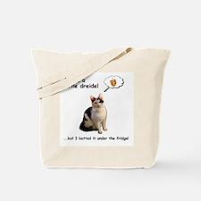 Dreidel cat Tote Bag