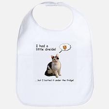 Dreidel cat Bib