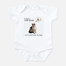 Dreidel cat Infant Bodysuit