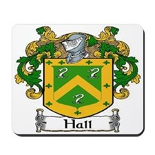 Hall Coat of Arms Mousepad