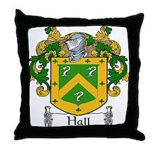 Hall Coat of Arms Throw Pillow