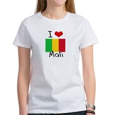 I HEART MALI FLAG T-Shirt