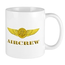 Air Crew Wings Small Mugs