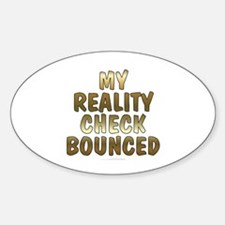My reality check Decal