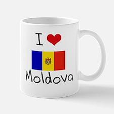 I HEART MOLDOVA FLAG Mug