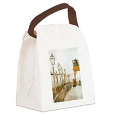 Van Gogh Montmartre Canvas Lunch Bag