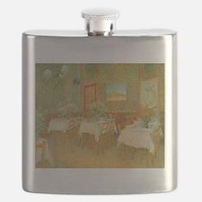 Van Gogh Interior of a Restaurant Flask
