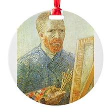 Van Gogh Self Portrait Ornament