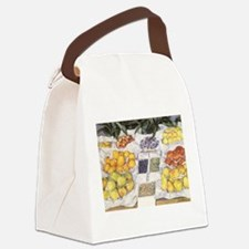 Fruit Stand by Caillebotte Canvas Lunch Bag