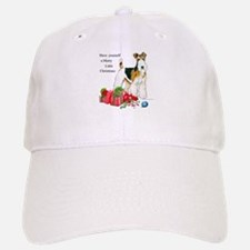 Merry Little Fox Terrier Baseball Baseball Cap
