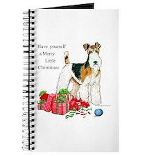 Merry Little Fox Terrier Journal