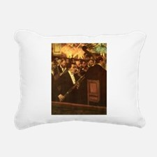 Orchestra of Opera by Degas Rectangular Canvas Pil