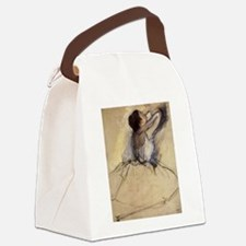 The Dancer by Edgar Degas Canvas Lunch Bag