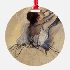 The Dancer by Edgar Degas Ornament