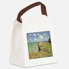 Claude Monet, Cliff Walk at Pourville Canvas Lunch