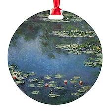 Waterlilies by Claude Monet Ornament