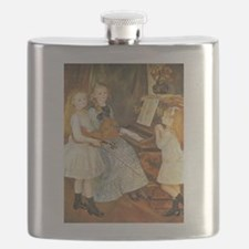 Renoir Daughters of Catulle Mendes Flask