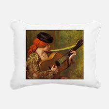 Renoir Spanish Woman with Guitar Rectangular Canva