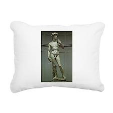 Statue of David by Michelangelo Rectangular Canvas