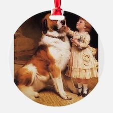 Trust by Charles Burton Barber Ornament
