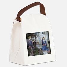 Annunciation by JW Waterhouse Canvas Lunch Bag
