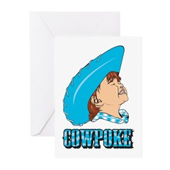 Cowpoke Greeting Cards (Pk of 10)