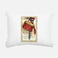 Vintage 4th of July Rectangular Canvas Pillow