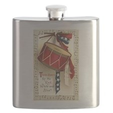 Vintage 4th of July Flask