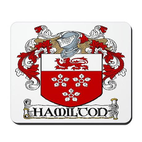 Hamilton Coat of Arms Mousepad