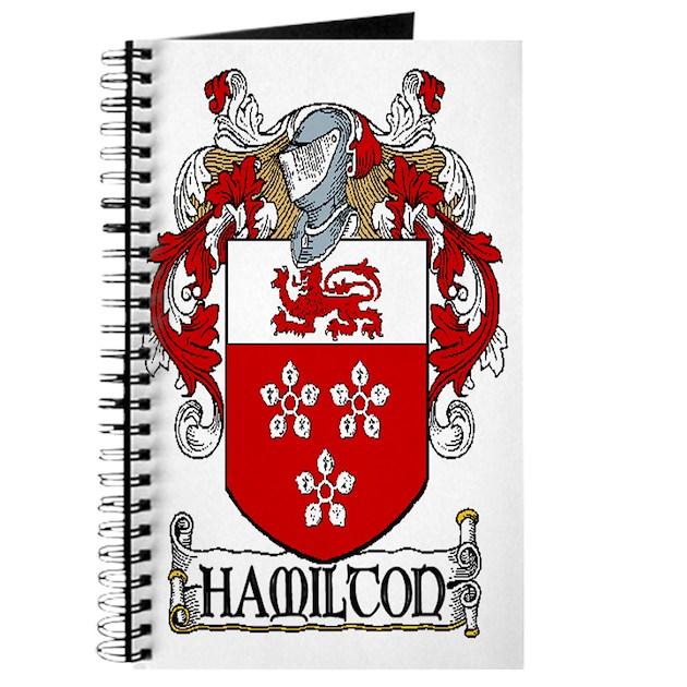 Hamilton Coat Of Arms Journal By Irishcountry