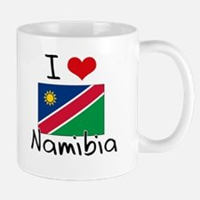 I HEART NAMIBIA FLAG Mug