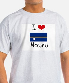 I HEART NAURU FLAG T-Shirt