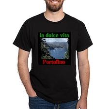 la dolce vita Portofino Italy T-Shirt