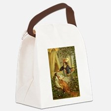 Vintage Sleeping Beauty Canvas Lunch Bag