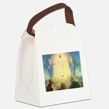 Vintage Jesus Christ Canvas Lunch Bag