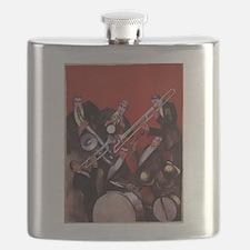 Vintage Music, Art Deco Jazz Flask