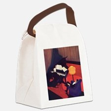 Vintage Music, Piano Canvas Lunch Bag