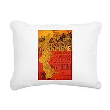 Vintage La Boheme Opera Rectangular Canvas Pillow