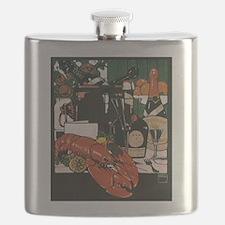 Vintage Fancy Foods Flask